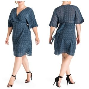 STANDARDS & PRACTICES 'Candice' Wrap Dress